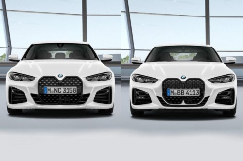 BMW 4 Series Gran Coupe Kidney Grille Differs Slightly From Coupe's