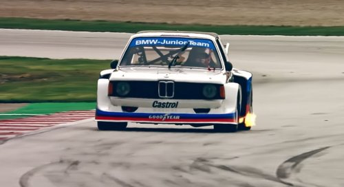 Video: Group 5 BMW 320i goes racing at the DRM Revival