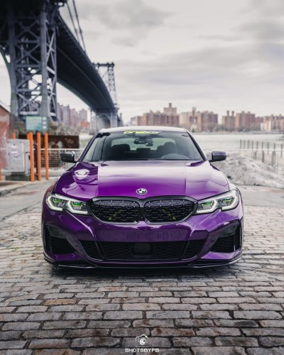 BMW M340i in Twilight Purple - The Perfect Color?