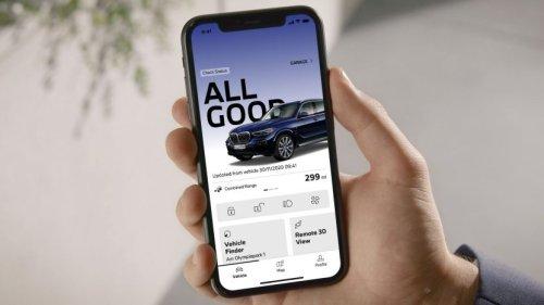 "New ""My BMW App"" - Demo Video"