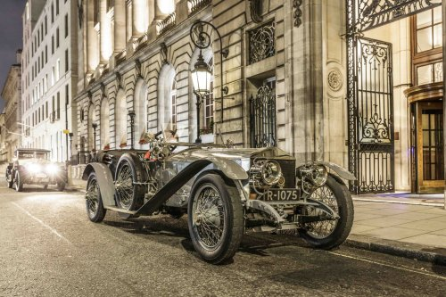 Rolls-Royce Silver Ghost reenacts London-Edinburgh run 110 years later