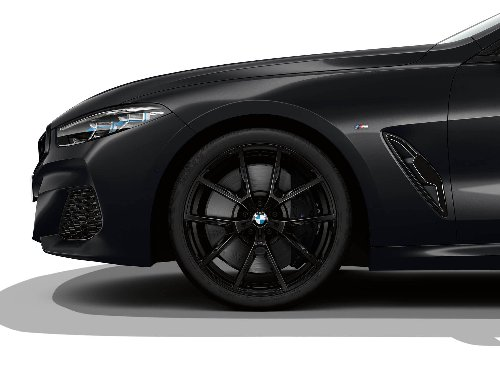 BMW 8 Series Frozen Black Edition is a stunning automobile