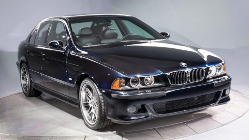 2003 BMW E39 M5 with 3,157 miles on the clock sells for $200,000