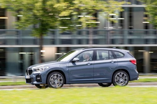 SPIED: 2022 BMW X1 Hits the 'Ring in New Video