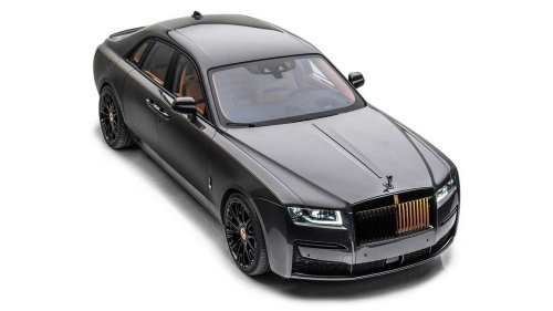Mansory Launch Edition Rolls-Royce Ghost is subtle