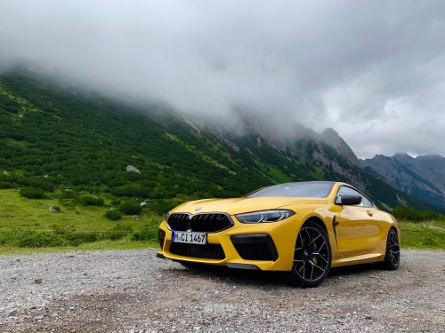 EXCLUSIVE: This BMW M8 Competition Coupe looks stunning in Speed Yellow