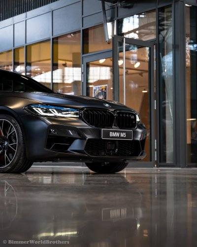 BMW M5 Competition in Frozen Black - The Ultimate Sleeper
