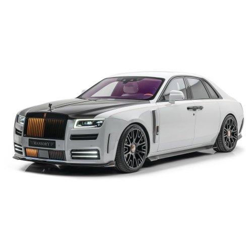 Rolls-Royce Ghost by Mansory is... Well, it's Interesting