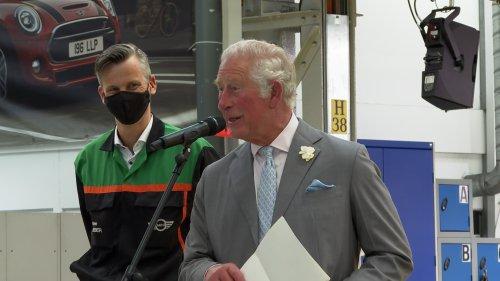 MINI Plant Oxford gets Royal visit to mark 20th anniversary