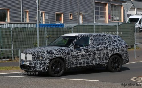 SPIED: A Bunch of BMWs Go Testing in Camouflage