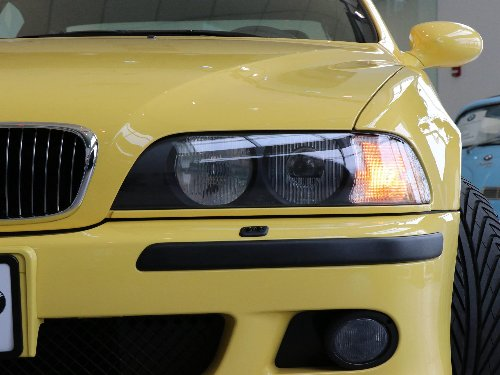 Mint 2000 BMW M5 E39 in Dakar Yellow with only 635 miles