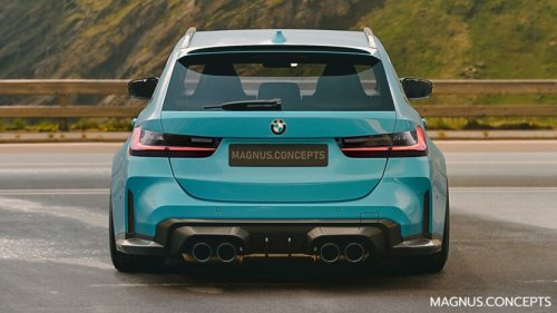 BMW M3 Touring Competition only with automatic transmission and xDrive
