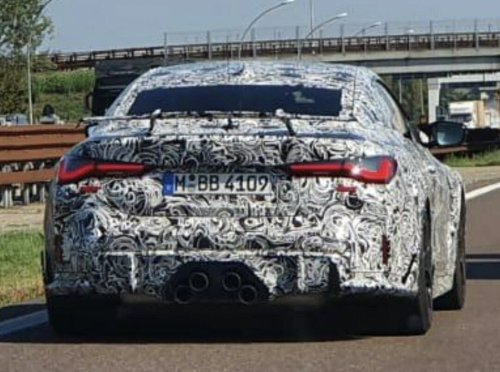 Potential upcoming BMW M4 CS prototype spotted out testing