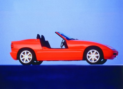 Mint 1990 Top Red BMW Z1 going under the hammer later this month