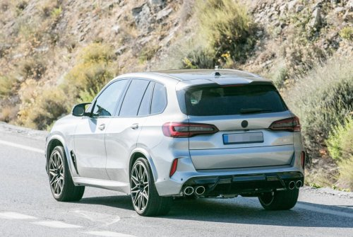 2022 BMW X5 M Facelift is already out testing