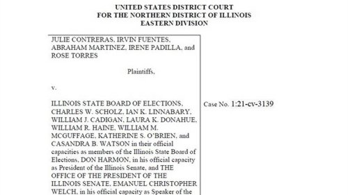 Mexican American Legal Defense Fund amends redistricting complaint in Illinois