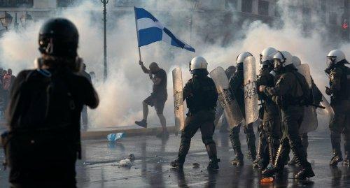 Demonstrationen gegen Corona-Maßnahmen in Europa