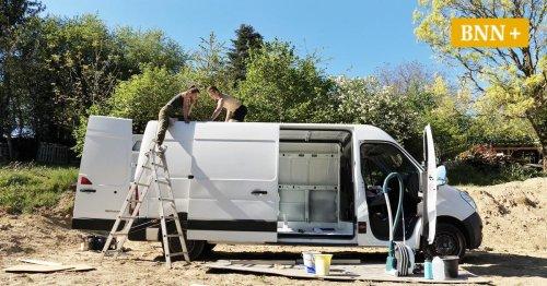 Camper für wenig Geld: Bruchsalerin verkauft ausgebaute Kastenwagen