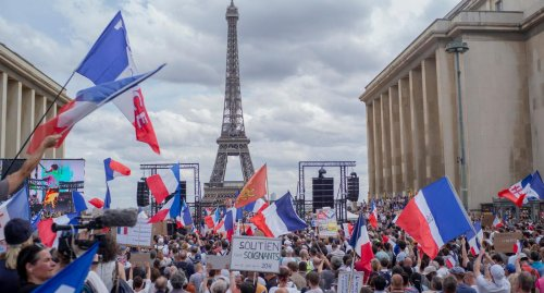 Frankreich rüstet sich für erneute Corona-Massenproteste