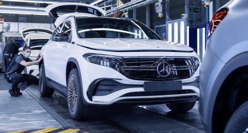 So sieht der neue Elektro-Mercedes EQA aus Rastatt aus