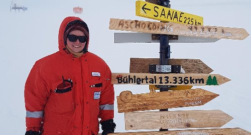 Bühlertalerin forschte auf der Neumeyer-Station in der Antarktis