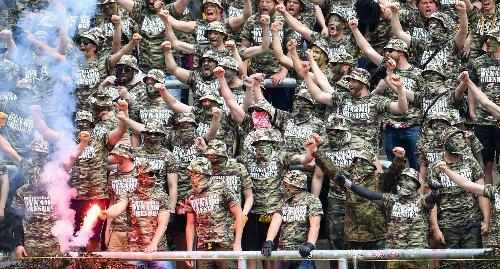 Nach Aufmarsch von Fußballfans: Ultra aus Dresden in Karlsruhe vor Gericht