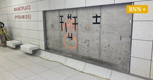 Kombilösung Karlsruhe: Kunstwerk wird erst lange nach Eröffnung fertig
