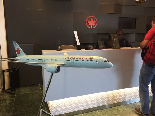 Air Canada has a public status match for US residents that could land you lounge access on US flights.