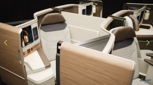 New Qatar Airways 787-9 business class seat revealed ( QSuite 2.0?) - Monkey Miles