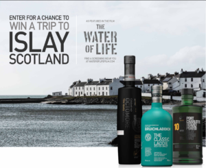 Win A Trip For 2 To Islay, Scotland + A Visit To The Bruichladdich Distillery
