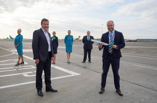 Emerald Airlines sign ten-year franchise agreement with Aer Lingus to operate regional services