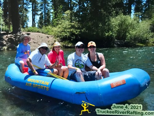 Happy Father's Day! Rafting / Floating Down Rivers at Lake Tahoe, CA and Boise, ID