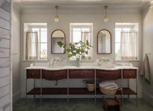 4 Easy Ideas To Make Your Bathroom Feel Like A High-End Hotel - Bobby Berk