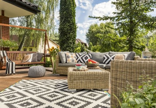 The Best Outdoor Rugs for Your Deck, Porch, or Patio