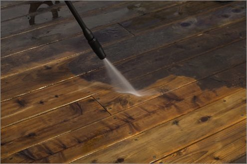 Using a Pressure Washer Around the House and Yard