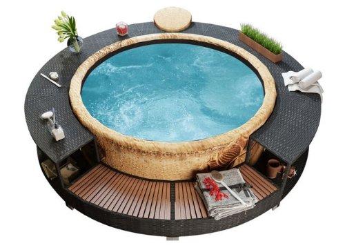 15 Hot Tub Deck Ideas for a Relaxing Backyard