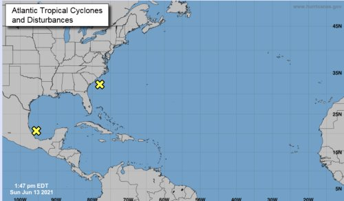 BUSY: Hurricane Center Watching Two Systems