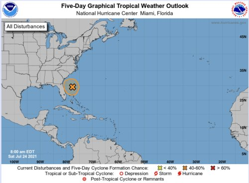 FLORIDA: Tropical Depression Now Likely To Form