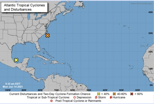 HURRICANE CENTER: Tropical Storm Could Form Today