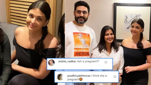 Is Aishwarya Rai Bachchan pregnant again? Latest pics of actress make her fans wonder | Bollywood Bubble