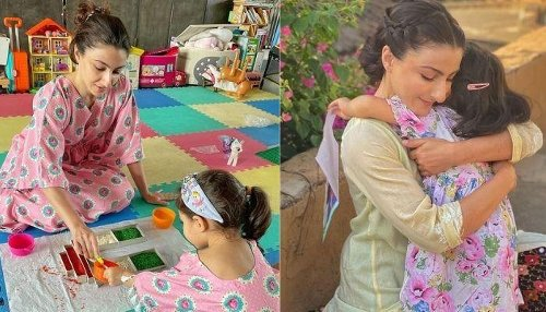 Soha Ali Khan Gives A Glimpse Of Her Little Munchkin, Inaaya Naumi Kemmu's 'Chill Day' At Home