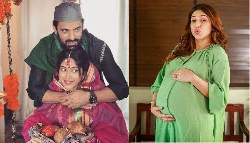 Mohit Malik's 8-Months Pregnant Wife, Aditi Malik Satisfies Her Pregnancy Cravings With 'Vada Pavs'