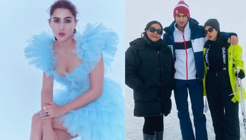 Sara Ali Khan Shares Her Vacation Pictures With Mom, Amrita Singh And Brother, Ibrahim Ali Khan