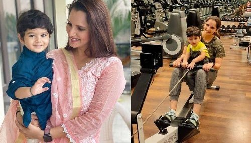 Sania Mirza's Son, Izhaan Mirza Malik Is The Cutest Little Spiderman You'll See On The Internet