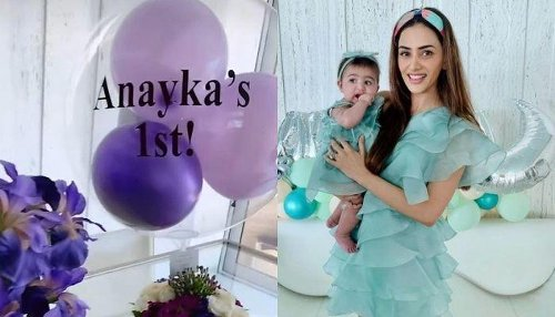 Smriti Khanna Gets A School-Themed Cake Made For Her Daughter, Anayka Gupta On Her First Birthday