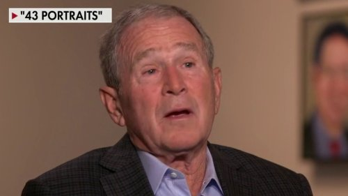George Bush calls for 'gradual' citizenship path for illegal immigrants, but says 'amnesty' is 'unfair'
