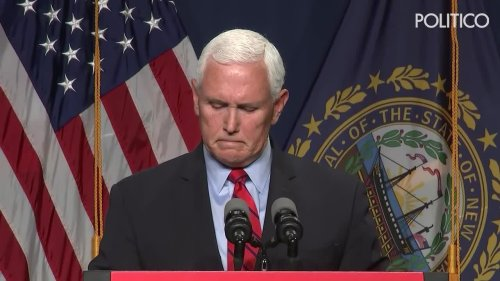 Pence says he and Trump may never 'see eye to eye' on Jan. 6 insurrection