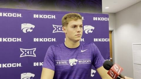 K-State QB Will Howard ready to lead Wildcats offense against Nevada