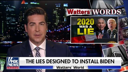 Jesse Watters blasts liberal media for pushing lies in 2020 to help Biden win the election
