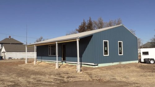 K-State students designed a prototype of solar homes that cost about $100,000